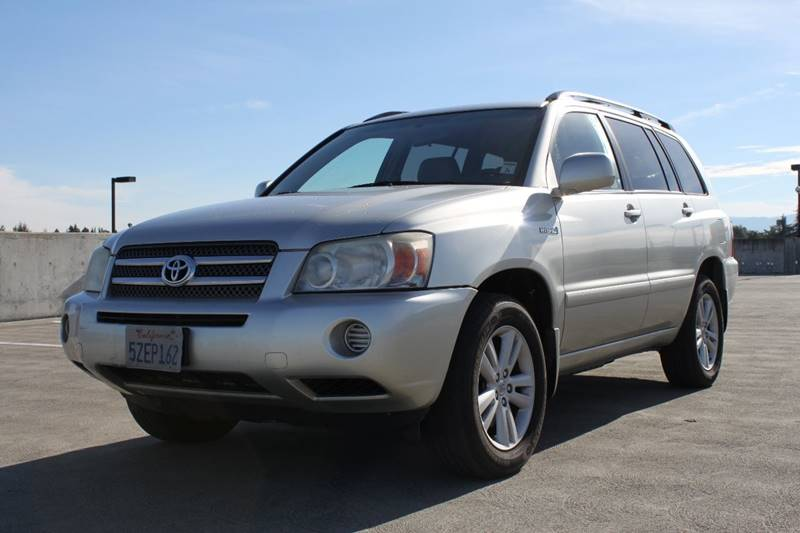 2007 TOYOTA HIGHLANDER HYBRID BASE 4DR SUV silver 2-stage unlocking doors abs - 4-wheel air fil