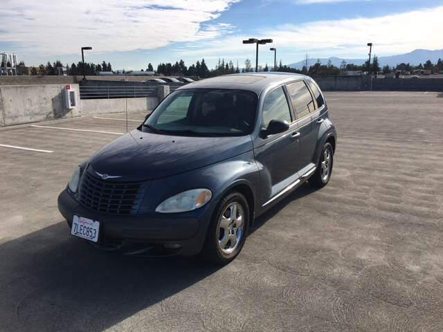 2002 CHRYSLER PT CRUISER LIMITED EDITION 4DR WAGON blue anti-theft system - alarm center console