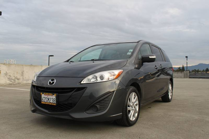 2013 MAZDA MAZDA5 SPORT 4DR MINI VAN 5A gray 2-stage unlocking doors abs - 4-wheel air filtrati
