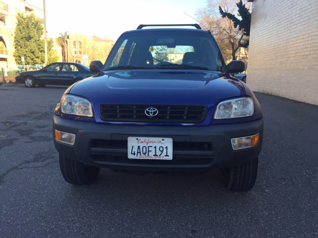 1998 TOYOTA RAV4 L SPECIAL EDITION SPECIASPECIA4D blue cassette clock cruise control front air
