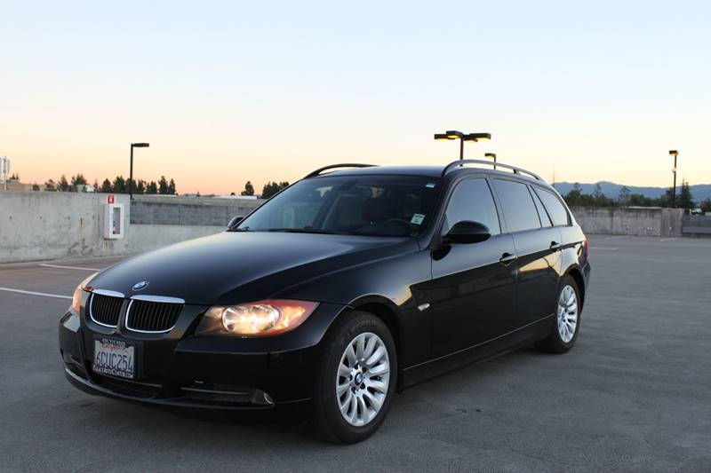 2008 BMW 3 SERIES 328I 4DR SPORTS WAGON black 2-stage unlocking doors abs - 4-wheel air filtrat