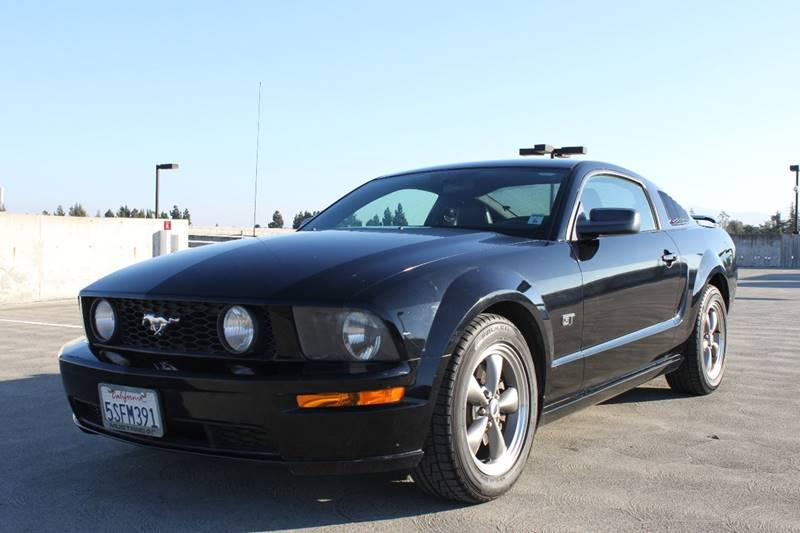 2006 FORD MUSTANG GT PREMIUM 2DR COUPE black 17 inch polished alloy wheels 5-speed automatic tra