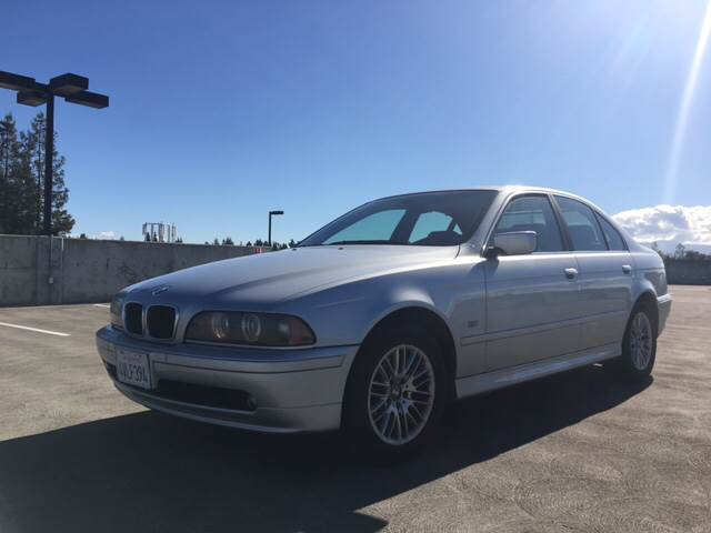 2002 BMW 5 SERIES 530I 4DR SEDAN silver abs - 4-wheel anti-theft system - alarm center console