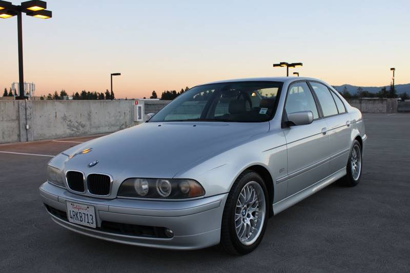 2001 BMW 5 SERIES 530I 4DR SEDAN silver abs - 4-wheel anti-theft system - alarm cassette cente
