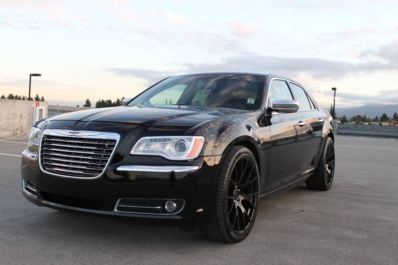 2013 CHRYSLER 300 C 4DR SEDAN black 2-stage unlocking doors abs - 4-wheel active head restraint