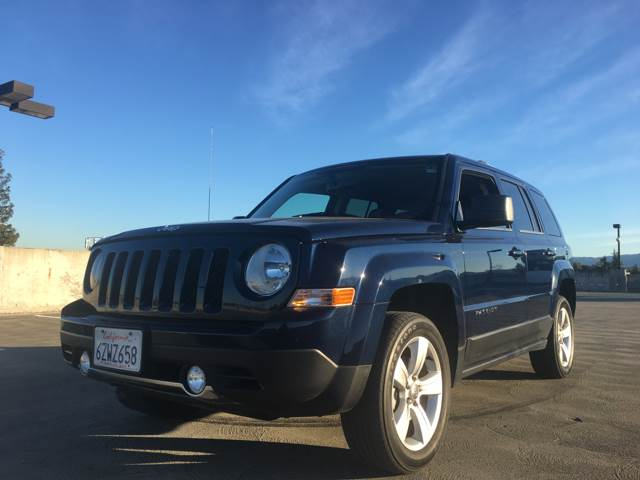 2013 JEEP PATRIOT LIMITED 4X4 4DR SUV blue 2-stage unlocking doors 4wd type - on demand abs - 4