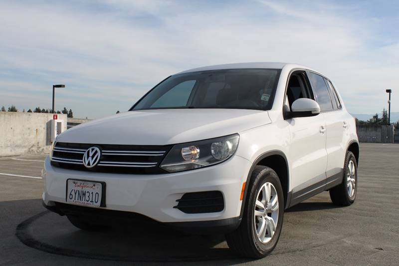 2013 VOLKSWAGEN TIGUAN S 4MOTION AWD 4DR SUV END113 white 2-stage unlocking doors 4wd type - f