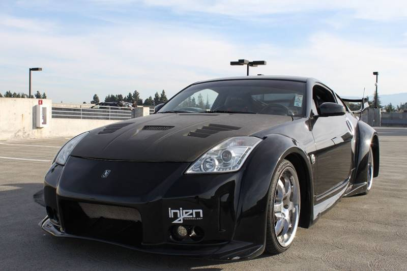 2003 NISSAN 350Z TRACK 2DR COUPE black abs - 4-wheel anti-theft system - alarm center console