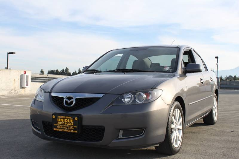2007 MAZDA MAZDA3 I TOURING 4DR SEDAN 2L I4 4A charcoal 2-stage unlocking doors active head re