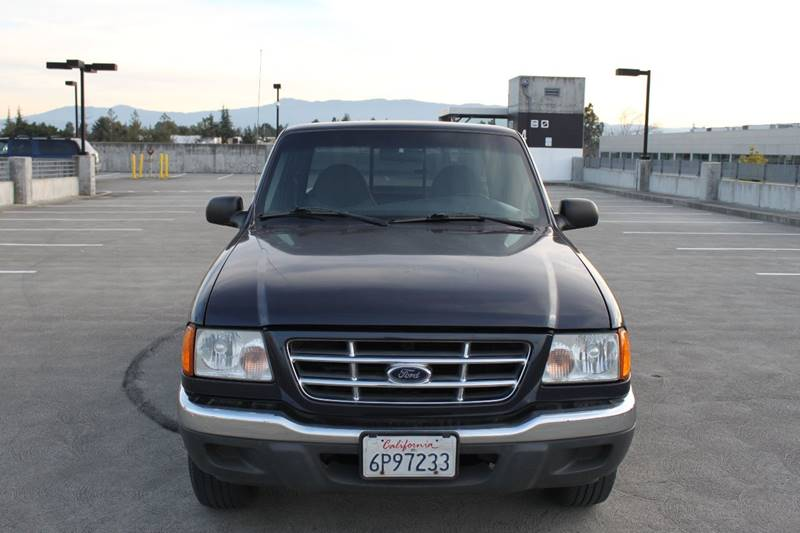 2001 FORD RANGER EDGE 2DR SUPERCAB 2WD SB blue abs - 4-wheel anti-theft system - alarm axle rat