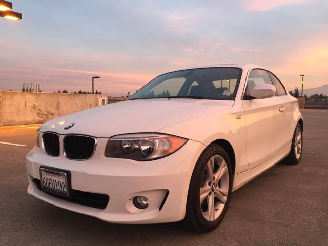 2012 BMW 1 SERIES 128I 2DR COUPE SULEV white 2-stage unlocking doors abs - 4-wheel air filtrati