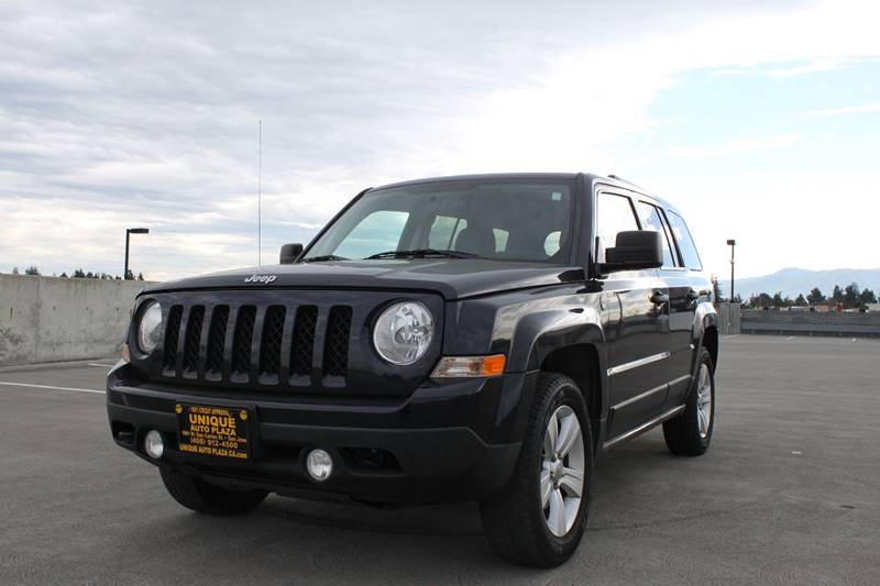 2011 JEEP PATRIOT LATITUDE 4X4 4DR SUV blue 4wd type - on demand abs - 4-wheel active head rest