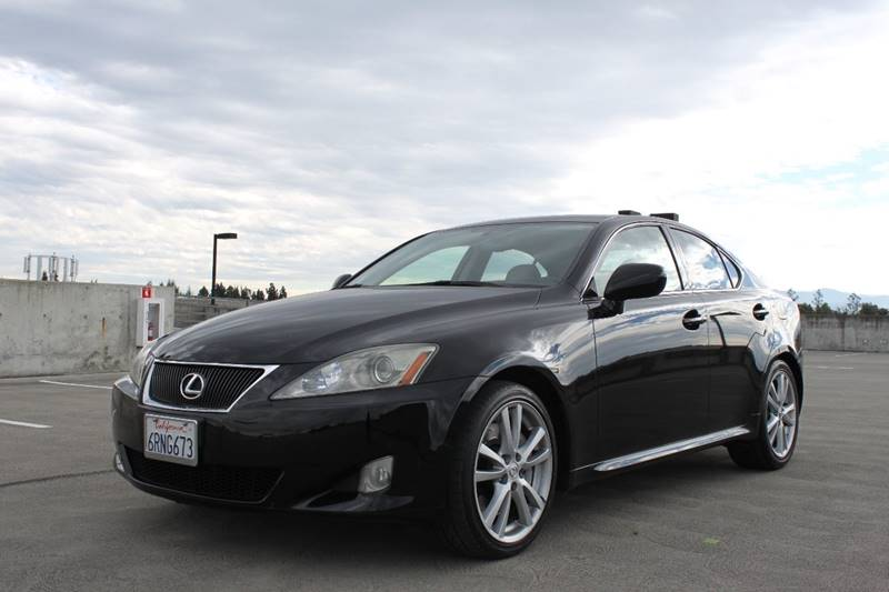 2006 LEXUS IS 350 BASE 4DR SEDAN black abs - 4-wheel air filtration airbag deactivation - occup