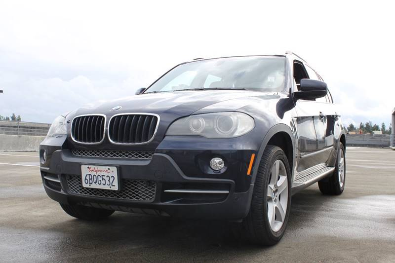 2008 BMW X5 30SI AWD 4DR SUV blue 2-stage unlocking doors 4wd type - full time abs - 4-wheel