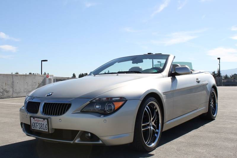 2004 BMW 6 SERIES 645CI 2DR CONVERTIBLE champagne wood interior trim front air conditioning fro