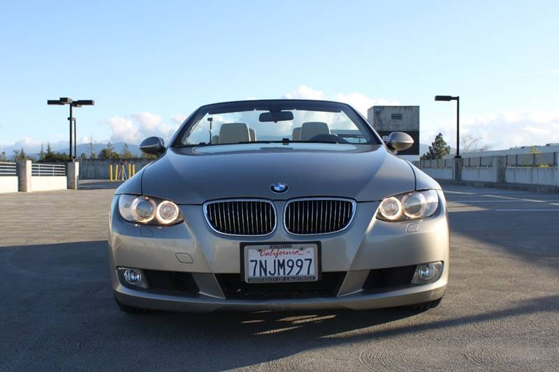 2009 BMW 3 SERIES 328I 2DR CONVERTIBLE gold 2-stage unlocking doors abs - 4-wheel active head r