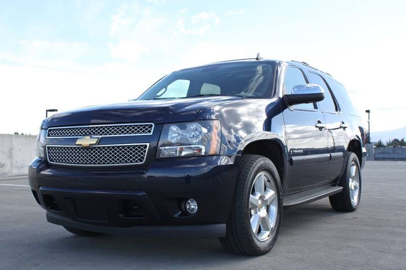 2008 CHEVROLET TAHOE LTZ 4X4 4DR SUV blue 4wd selector - electronic hi-lo 4wd type - part time w