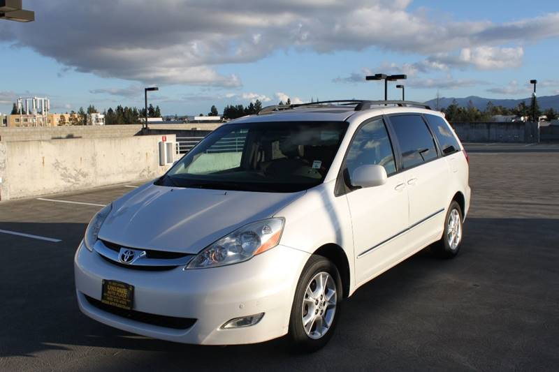 2006 TOYOTA SIENNA XLE LIMITED 7 PASSENGER AWD 4DR white abs - 4-wheel air filtration airbag de