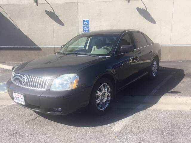 2007 MERCURY MONTEGO PREMIER AWD 4DR SEDAN gray super clean  2-stage unlocking doors 4wd type -