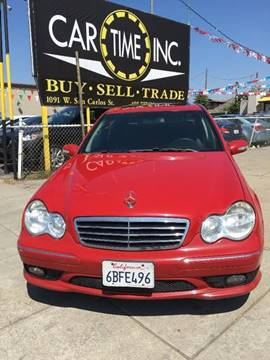 2007 Mercedes-Benz C-Class for sale at Car Time Inc in San Jose CA