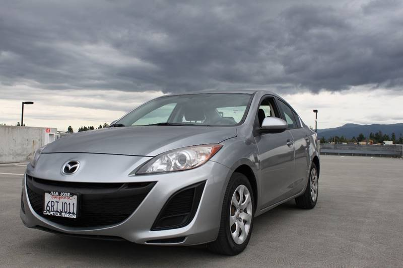 2011 MAZDA MAZDA3 I SPORT 4DR SEDAN 5M gray 2-stage unlocking doors abs - 4-wheel active head r