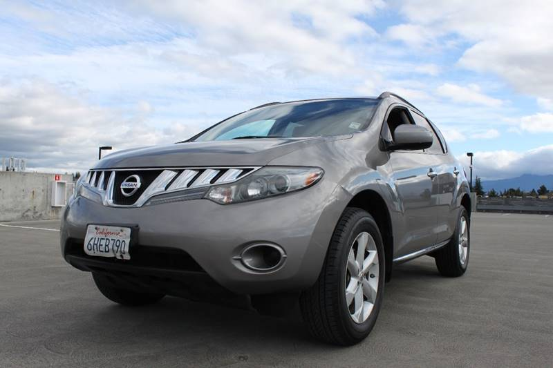 2009 NISSAN MURANO S AWD 4DR SUV black 2-stage unlocking doors 4wd type - on demand abs - 4-whe