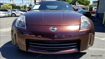 2006 Nissan 350Z for sale at Car Time Inc in San Jose CA