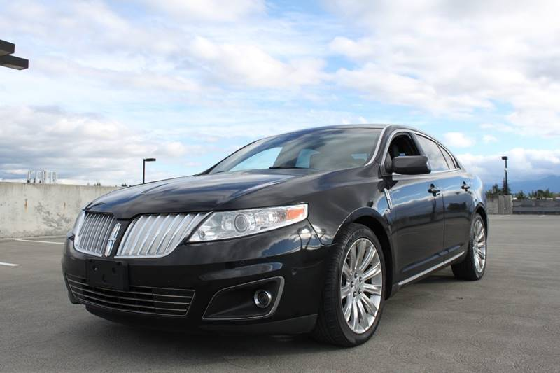2010 LINCOLN MKS ECOBOOST AWD 4DR SEDAN black exhaust - dual tip door handle color - body-color