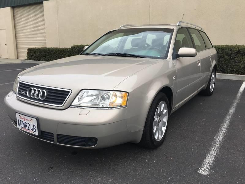 1999 AUDI A6 AVANT QUATTRO 28 AWD 4DR WAGON beige 2 previous owners excellent condition with 21