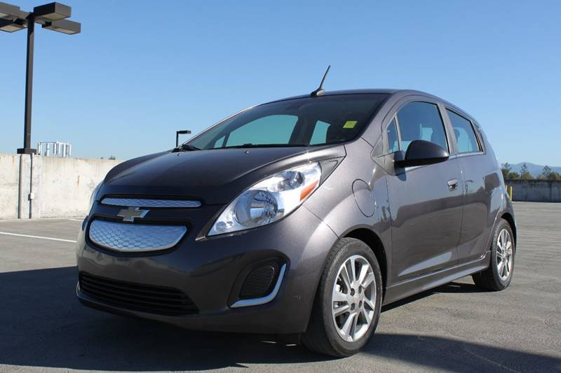 2014 CHEVROLET SPARK EV 2LT 4DR HATCHBACK gray 2-stage unlocking doors abs - 4-wheel active gri