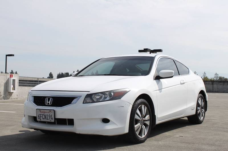 2009 HONDA ACCORD EX-L 2DR COUPE 5A white abs - 4-wheel active head restraints - dual front air