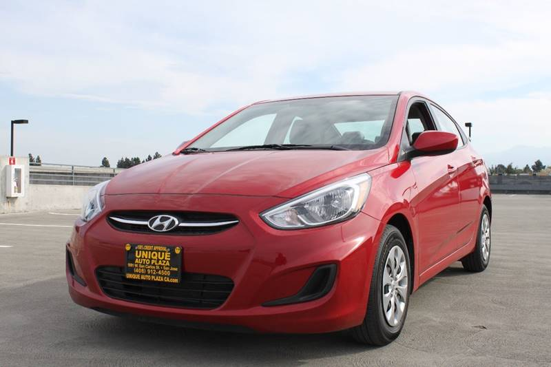 2017 HYUNDAI ACCENT VALUE EDITION 4DR SEDAN red door handle color - body-color exhaust tip color