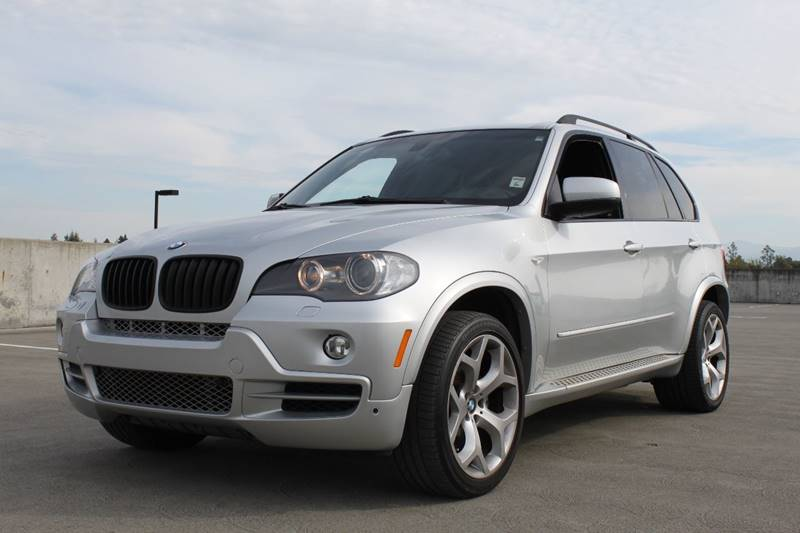 2008 BMW X5 48I AWD 4DR SUV silver 2-stage unlocking doors 4wd type - full time abs - 4-wheel