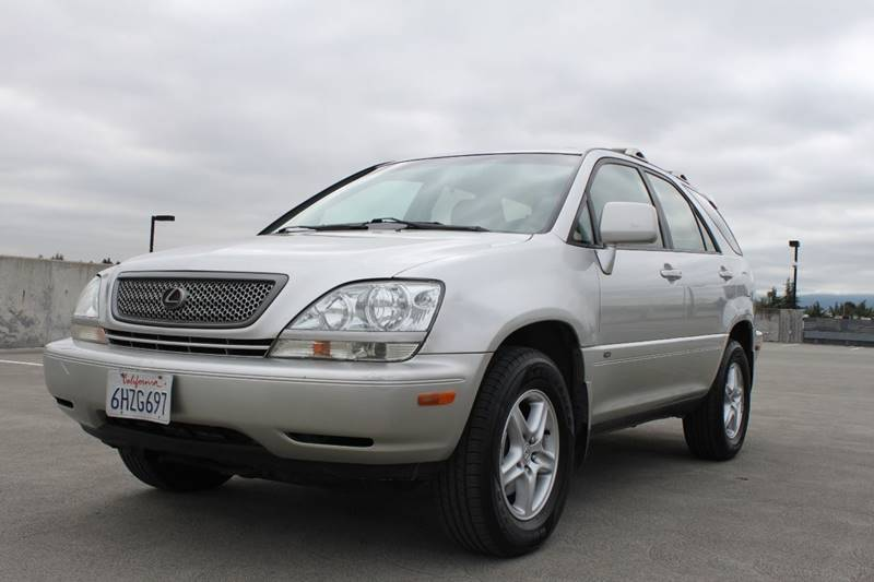 2001 LEXUS RX 300 BASE AWD 4DR SUV silver rear spoiler aluminumalloy interior trim front air c