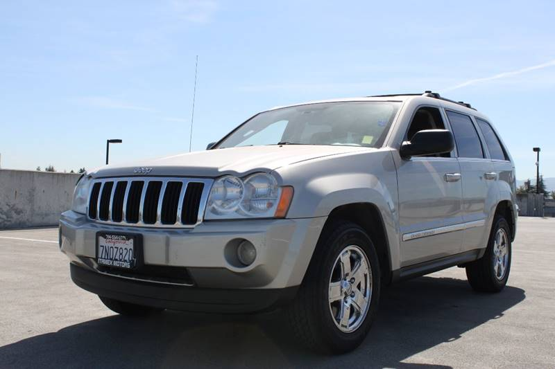 2007 JEEP GRAND CHEROKEE LIMITED 4DR SUV champagne 17x75 chrome clad aluminum wheels 230 kph pr