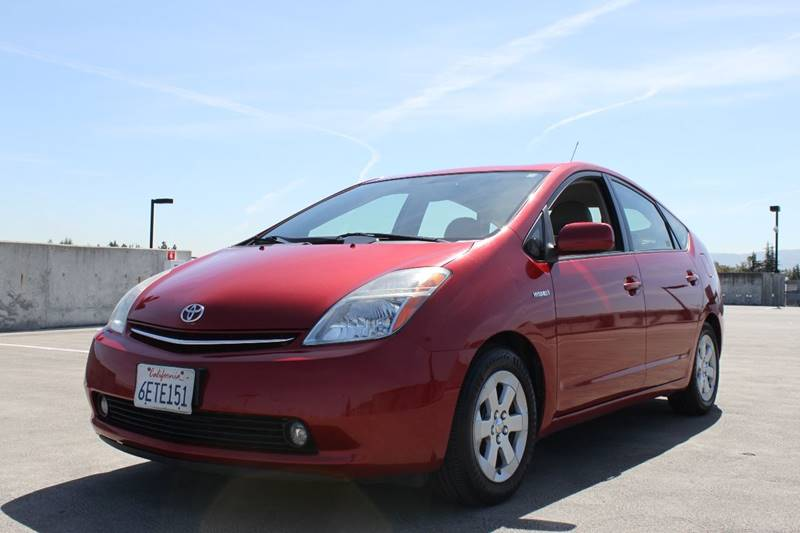 2009 TOYOTA PRIUS TOURING 4DR HATCHBACK red 2-stage unlocking doors abs - 4-wheel air filtratio