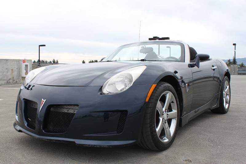 2007 PONTIAC SOLSTICE BASE 2DR CONVERTIBLE blue airbag deactivation - occupant sensing passenger