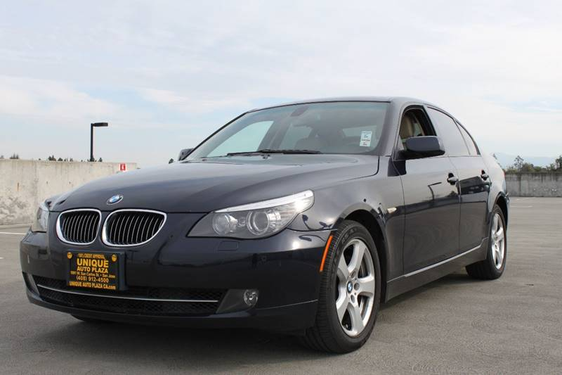 2008 BMW 5 SERIES 535XI AWD 4DR SEDAN blue 4wd type - full time abs - 4-wheel active head restr
