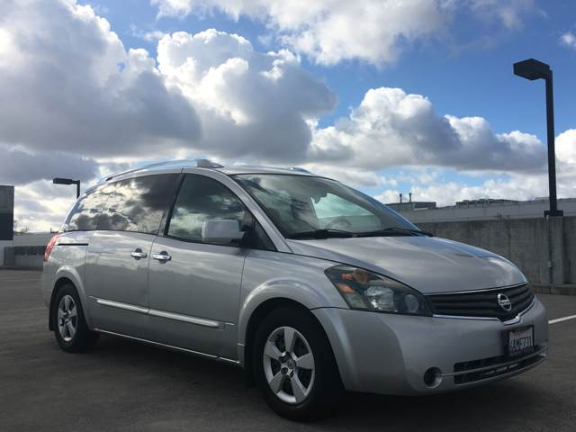 2007 NISSAN QUEST 35 SE 4DR MINI VAN silver 2-stage unlocking doors 3rd row moonroof  sunroof