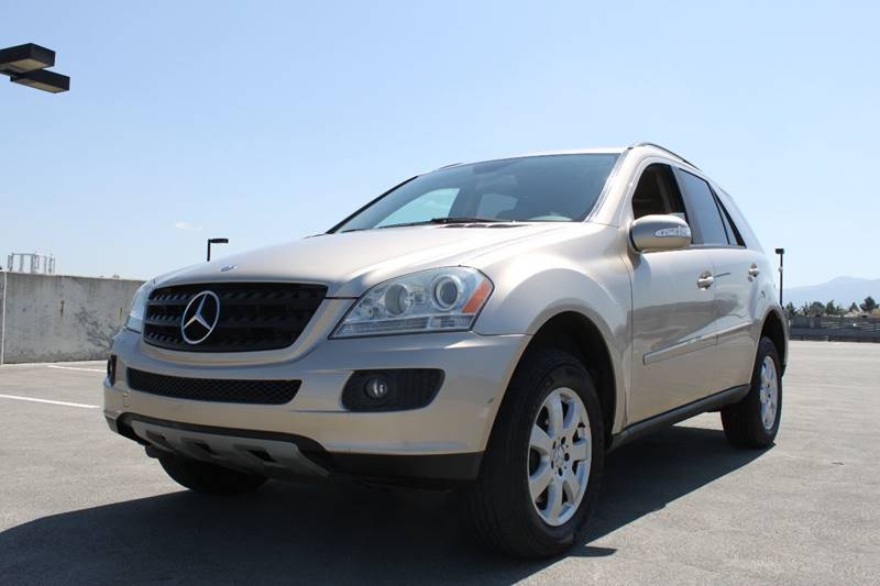 2006 MERCEDES-BENZ M-CLASS ML 350 AWD 4MATIC 4DR SUV gold air filtration armrests - rear folding