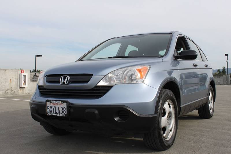 2007 HONDA CR-V LX AWD 4DR SUV blue air filtration armrests - rear center folding with storage a