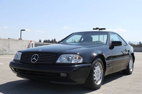 1997 Mercedes-Benz SL-Class for sale at Car Time Inc in San Jose CA