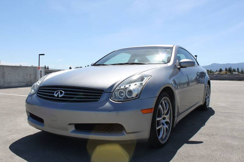 2006 INFINITI G35 BASE 2DR COUPE WAUTOMATIC gold abs - 4-wheel active head restraints - dual fr