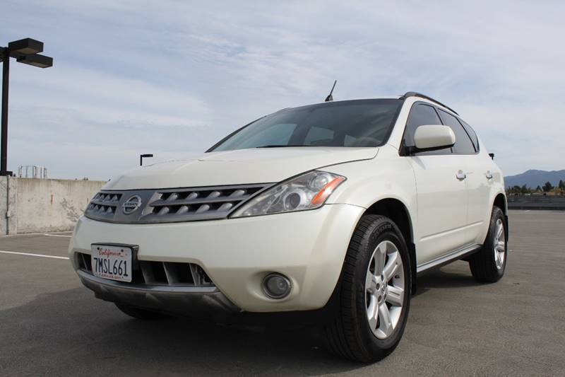 2006 NISSAN MURANO SL AWD 4DR SUV white 4wd type - full time abs - 4-wheel active head restrain
