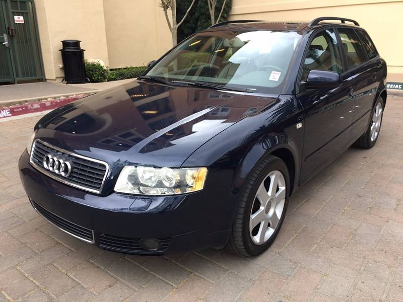 2005 AUDI A4 18T AVANT QUATTRO AWD 4DR WAGON dark front air conditioning - automatic climate con