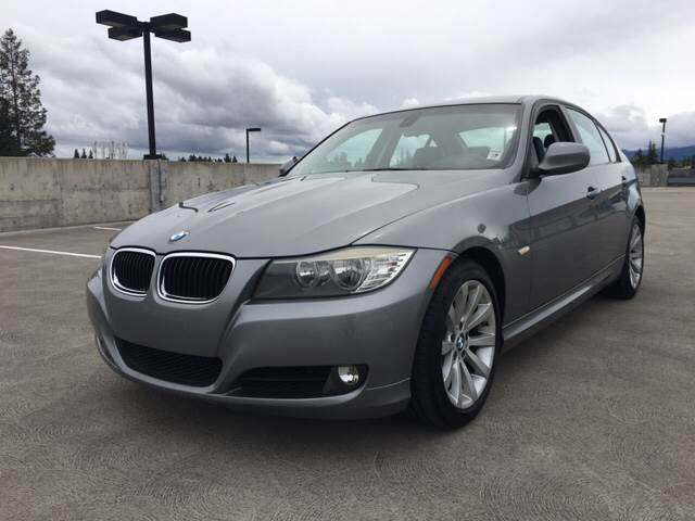 2011 BMW 3 SERIES 328I 4DR SEDAN SULEV gray 2-stage unlocking doors abs - 4-wheel active head r