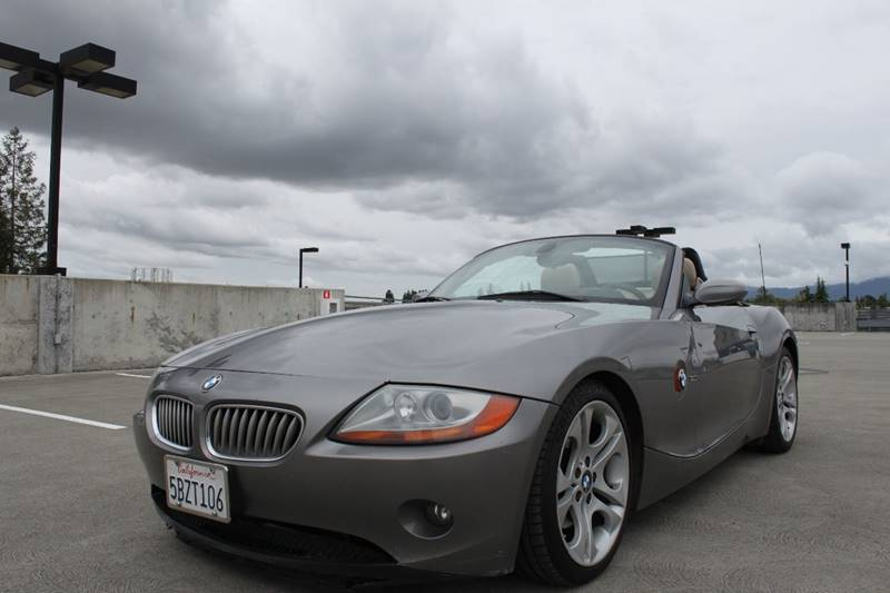 2003 BMW Z4 30I 2DR ROADSTER gray 5-speed automatic transmission abs - 4-wheel clock converti