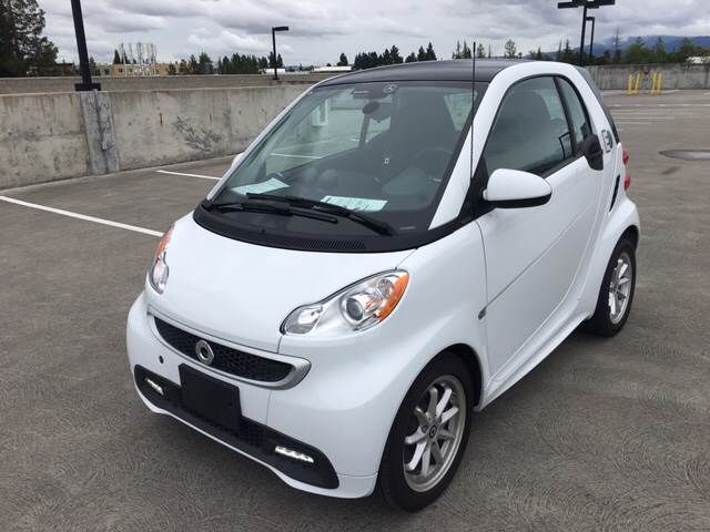 2016 SMART FORTWO ELECTRIC DRIVE 2DR HATCHBACK white 2-stage unlocking doors abs - 4-wheel air