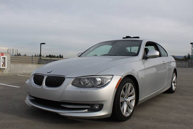 2013 BMW 3 SERIES 328I 2DR COUPE SULEV silver 2-stage unlocking doors abs - 4-wheel active head