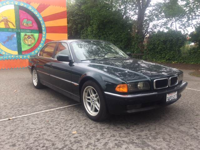 1998 BMW 7 Series for sale at Car Time Inc in San Jose CA
